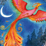 'the firebird' from stories of wizards published by usborne