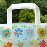 'tapestry' giftbag for flower city tissue
